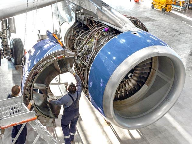 Reliable aerospace engine supply chains